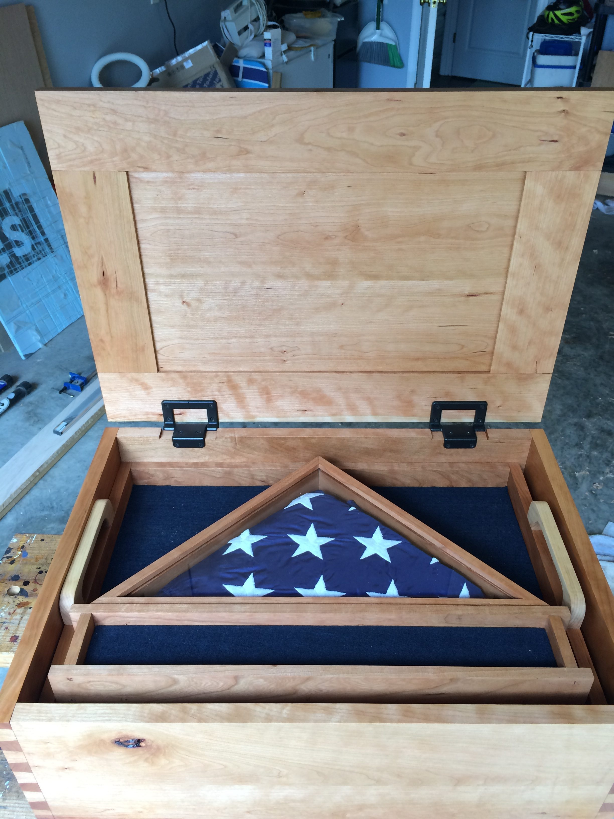 Military Shadow Box by Glenn Kuffel