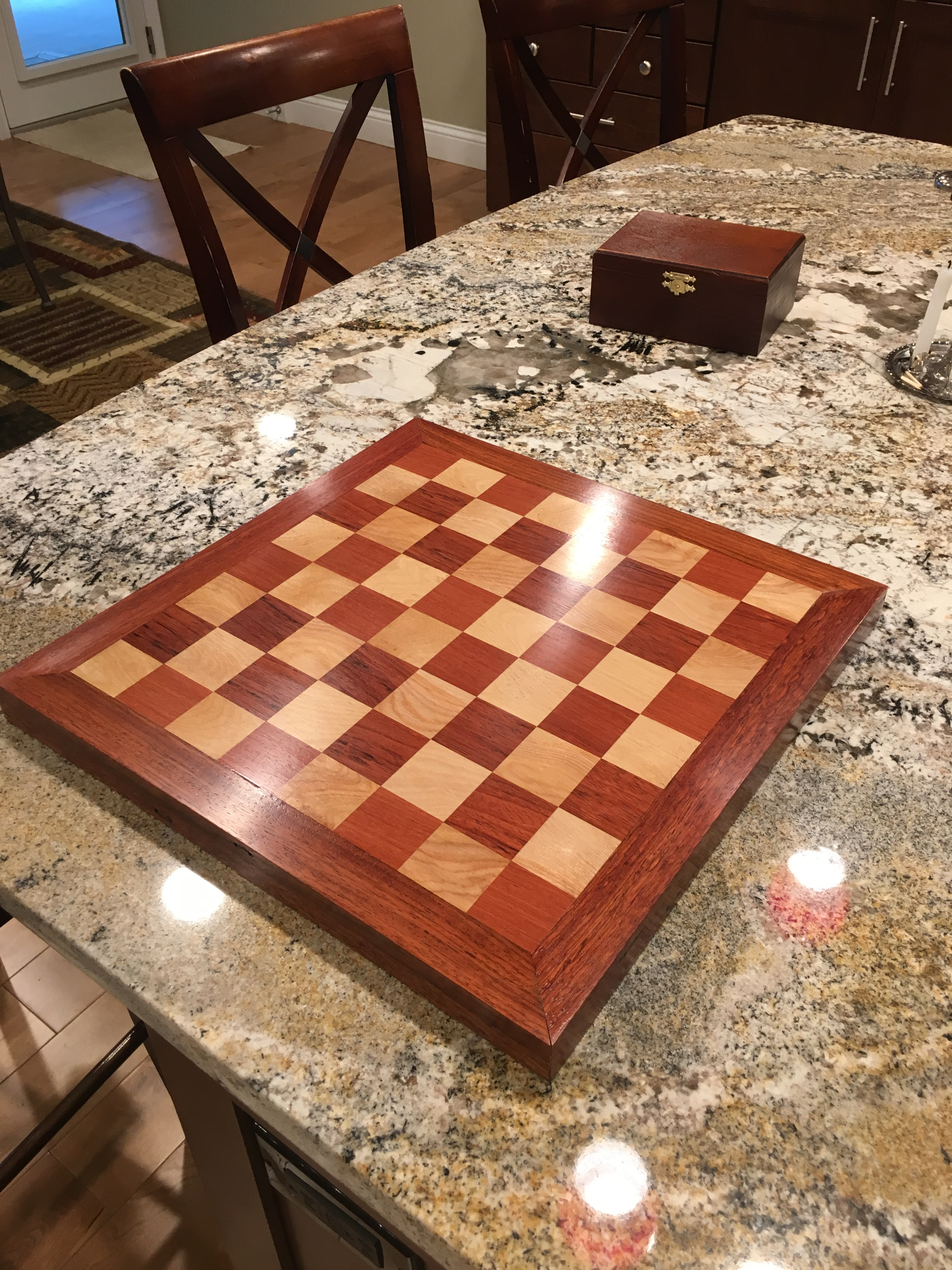 Chessboard by Chay Wesley