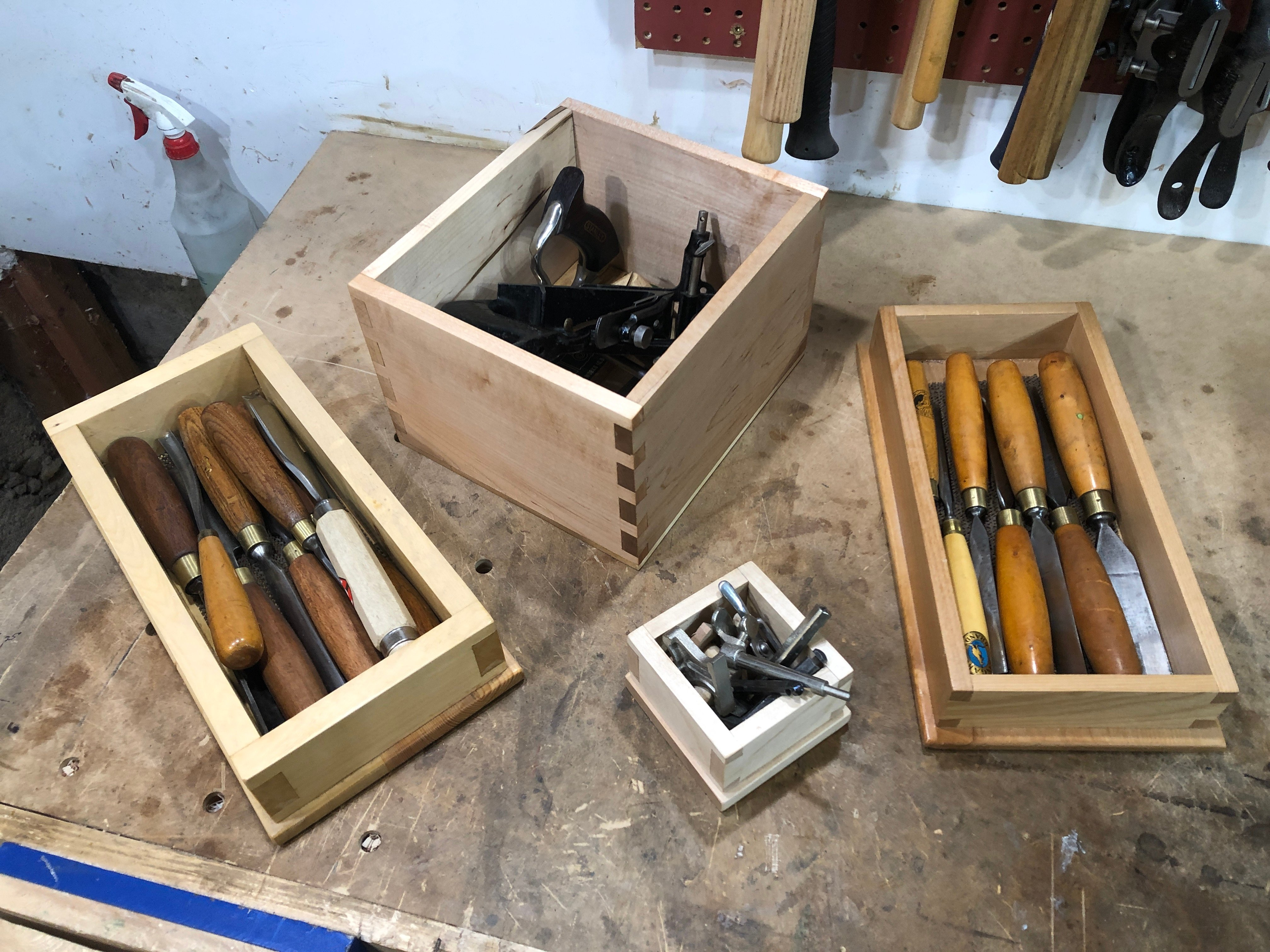 Dovetail Boxes by Brian Rosenberg