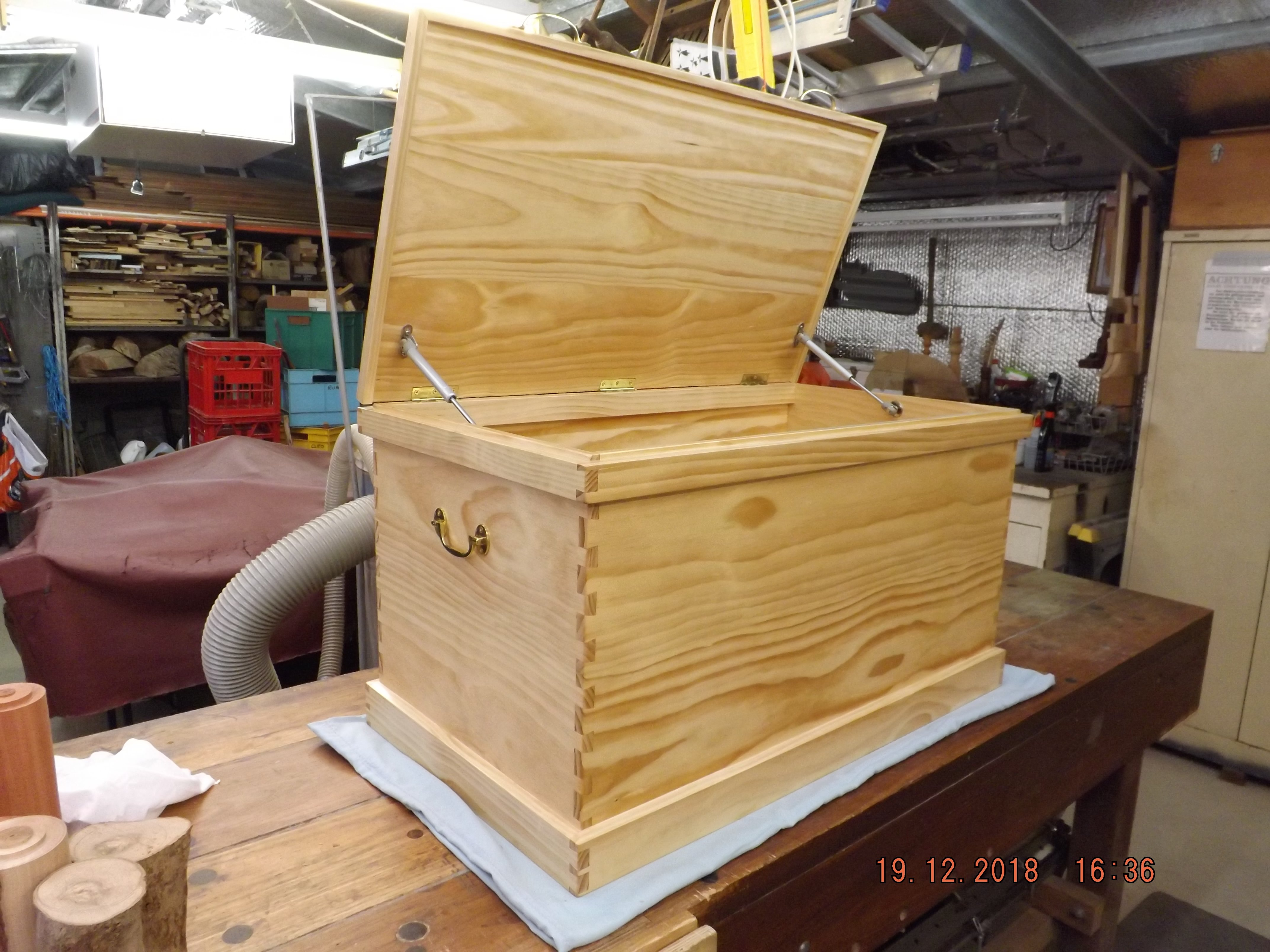 Joiner's Tool Box by Mick Adley