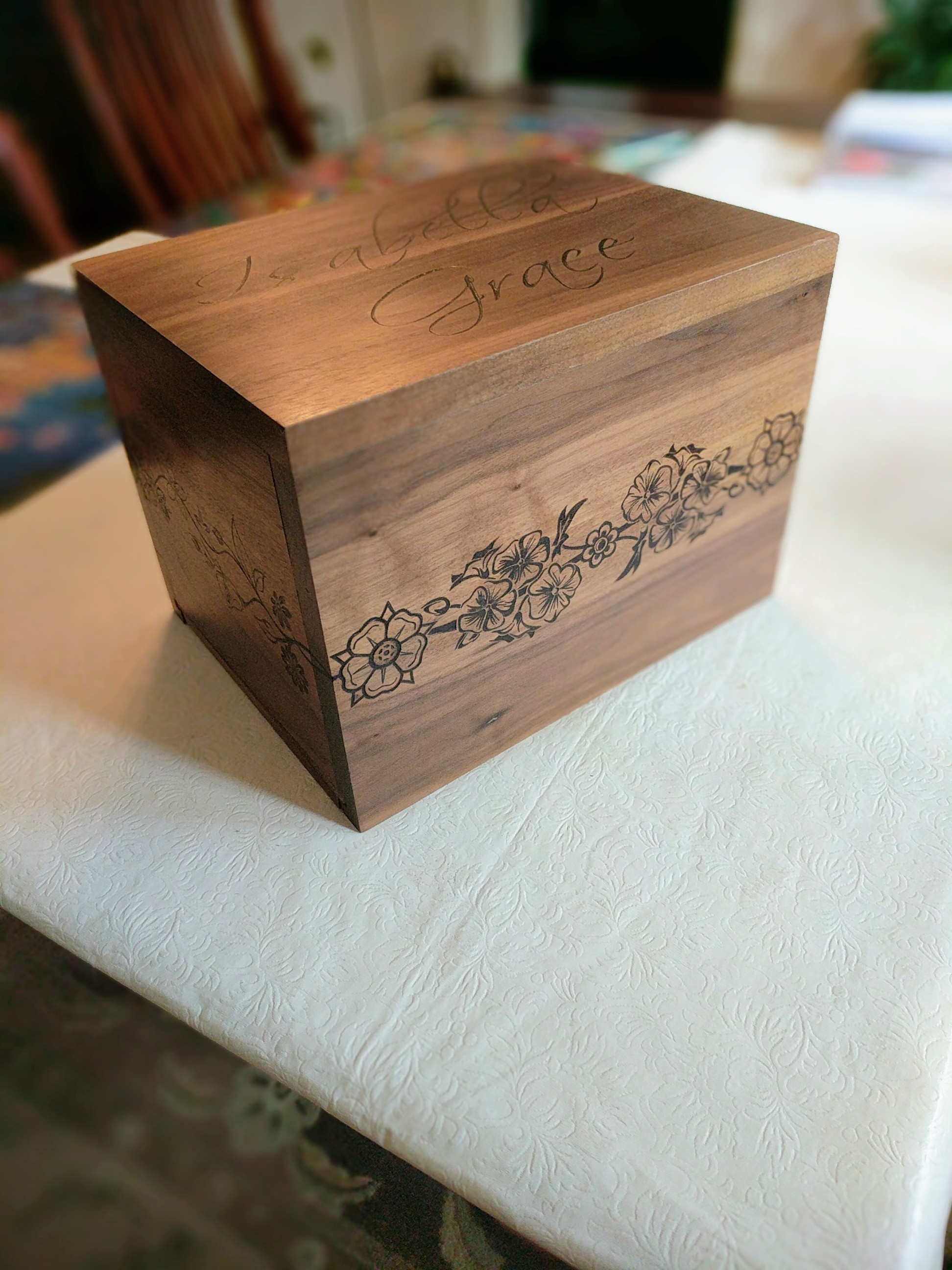 Keepsake Box by Kalman Grof-Tisza