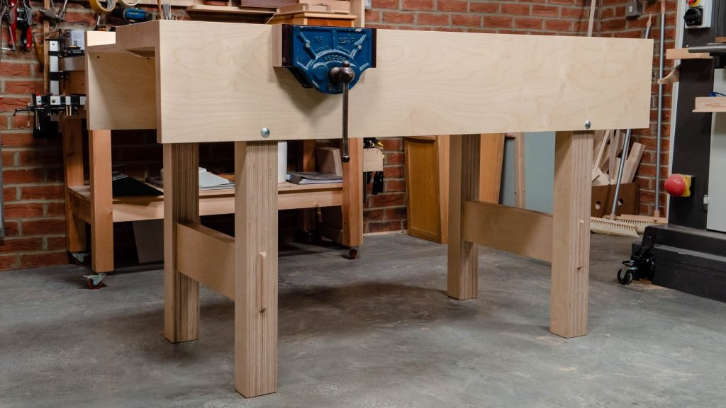 Plywood Workbench Woodworking Masterclasses