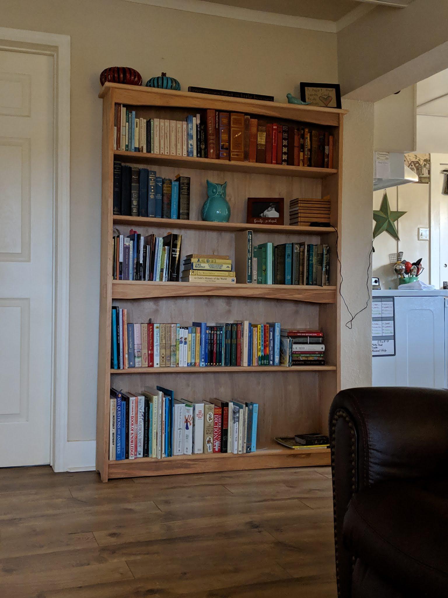 Bookshelves by Ben Simons