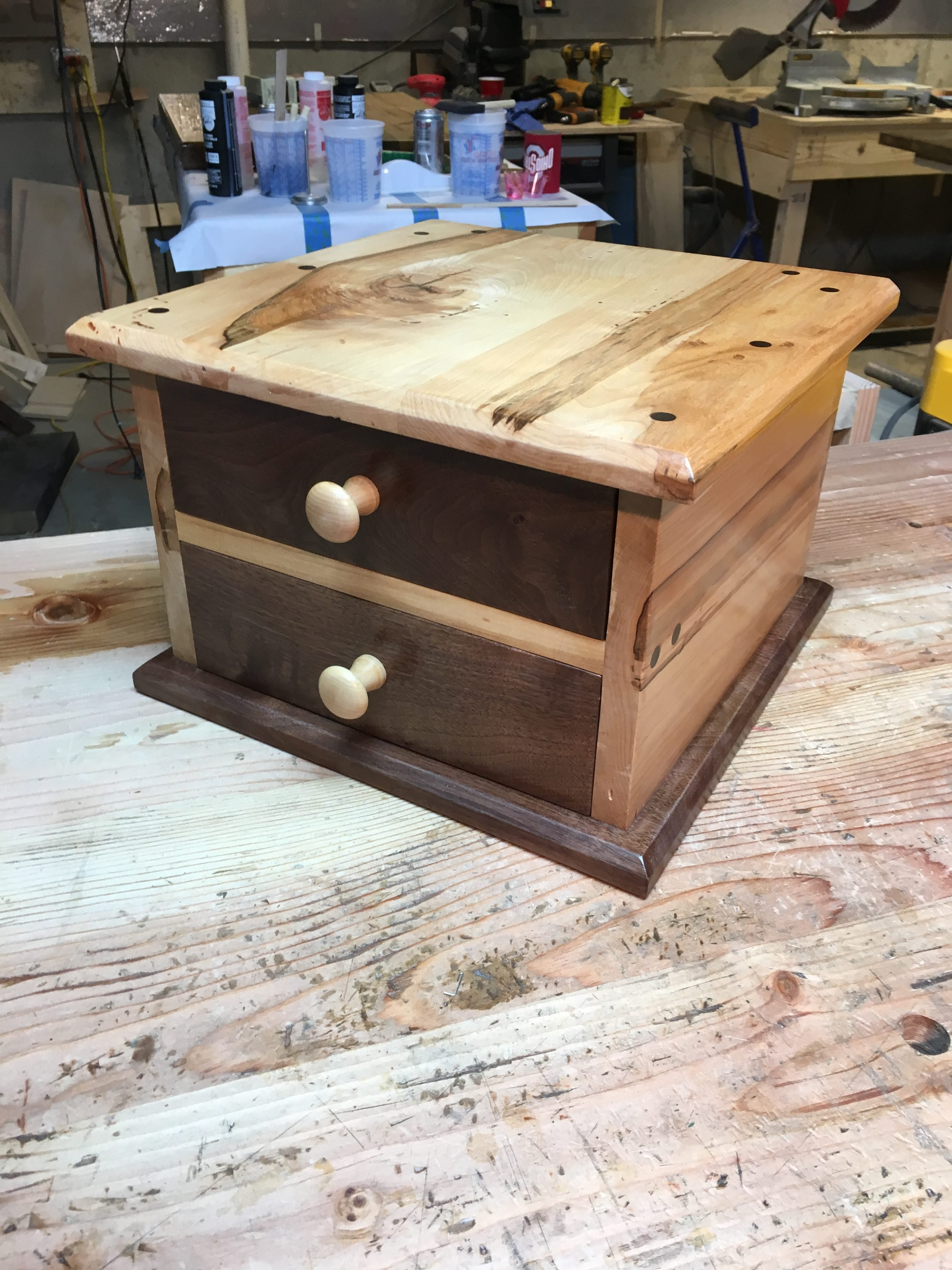 Dovetail Box by Larry Elam