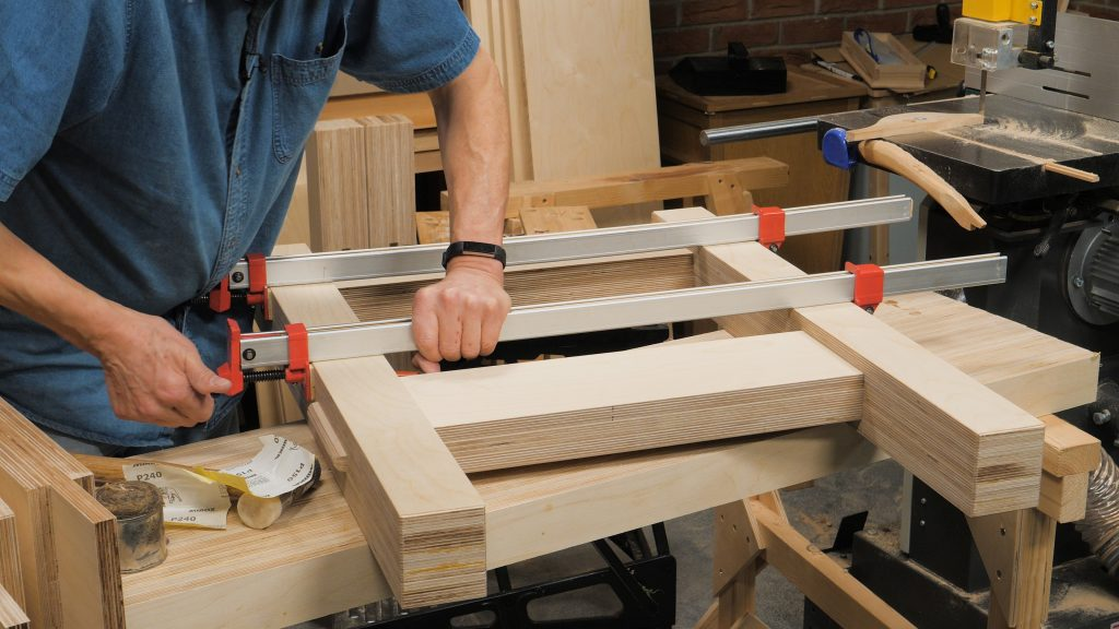 Plywood Workbench Episode 3 Woodworking Masterclasses