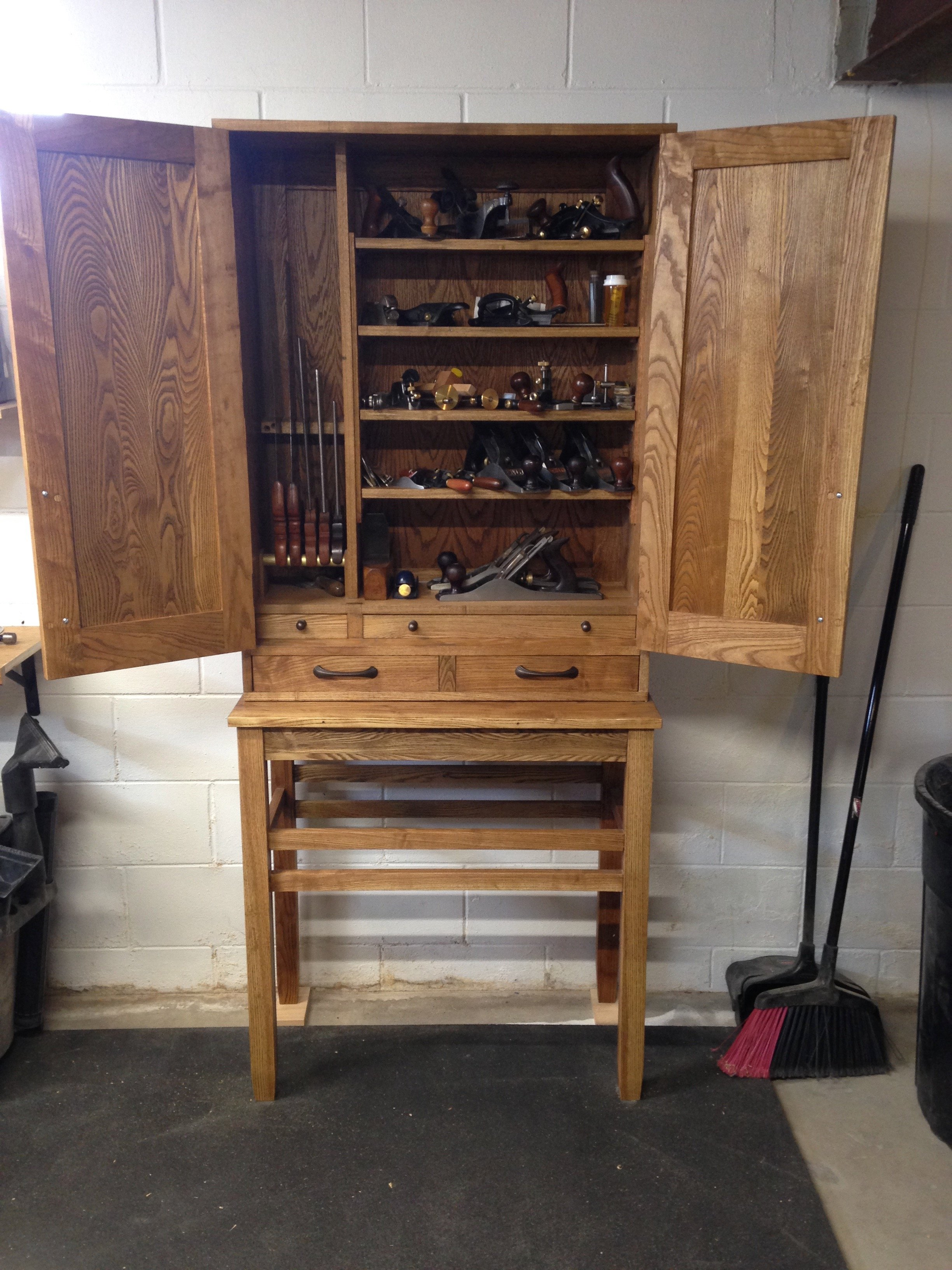 Tool Cabinet by Andrew LeRoy