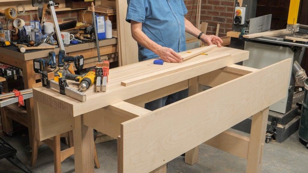 Plywood Workbench Episode 5 Keyframe