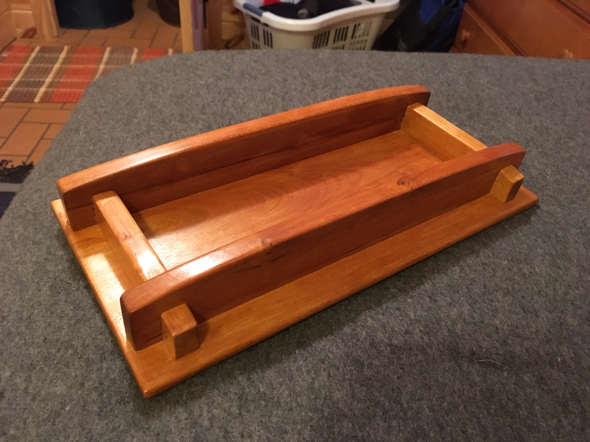 Wooden Tray by Tom Heikkinen