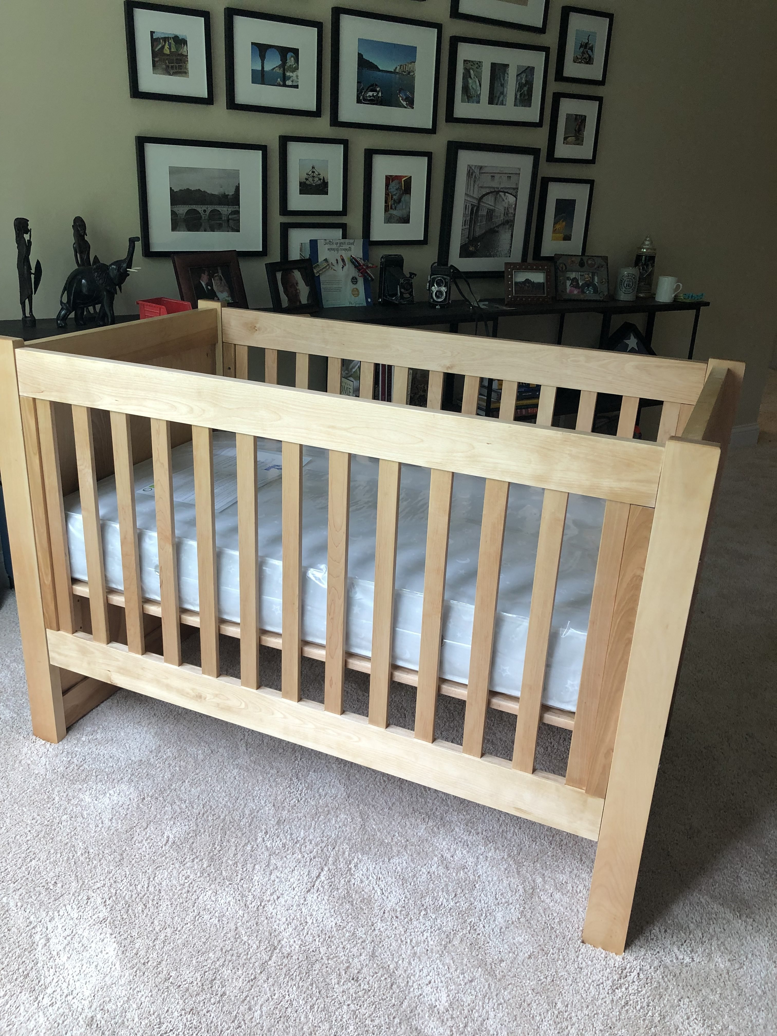 Baby's Cot/Crib by Curt Ruhlman