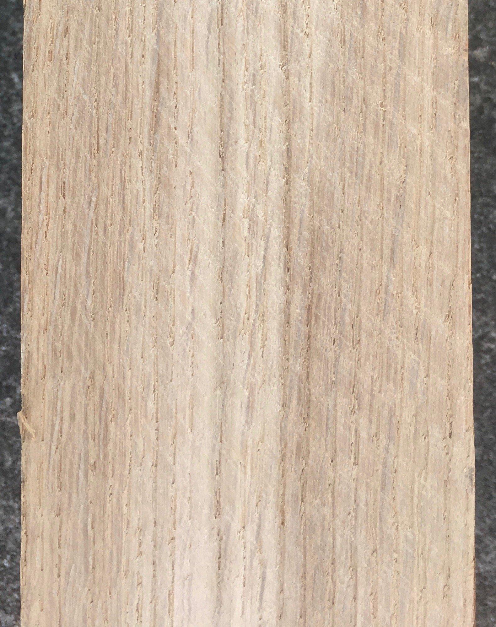Oak showing sapwood