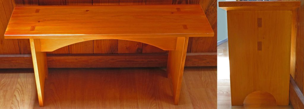 Shaker-style Bench by mercified