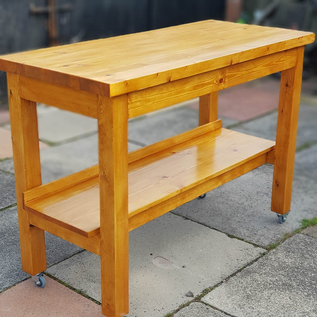 Moving Workshop Table by mersey