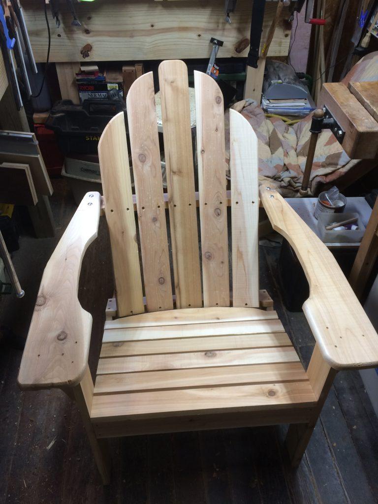 Adirondack Chair by david k