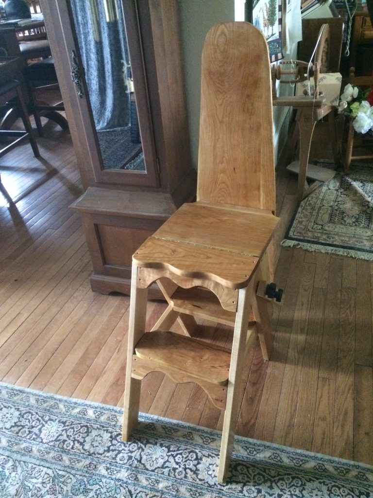 Jefferson Chair (Bachelor Chair) by David C. Kleinberg, M.D.