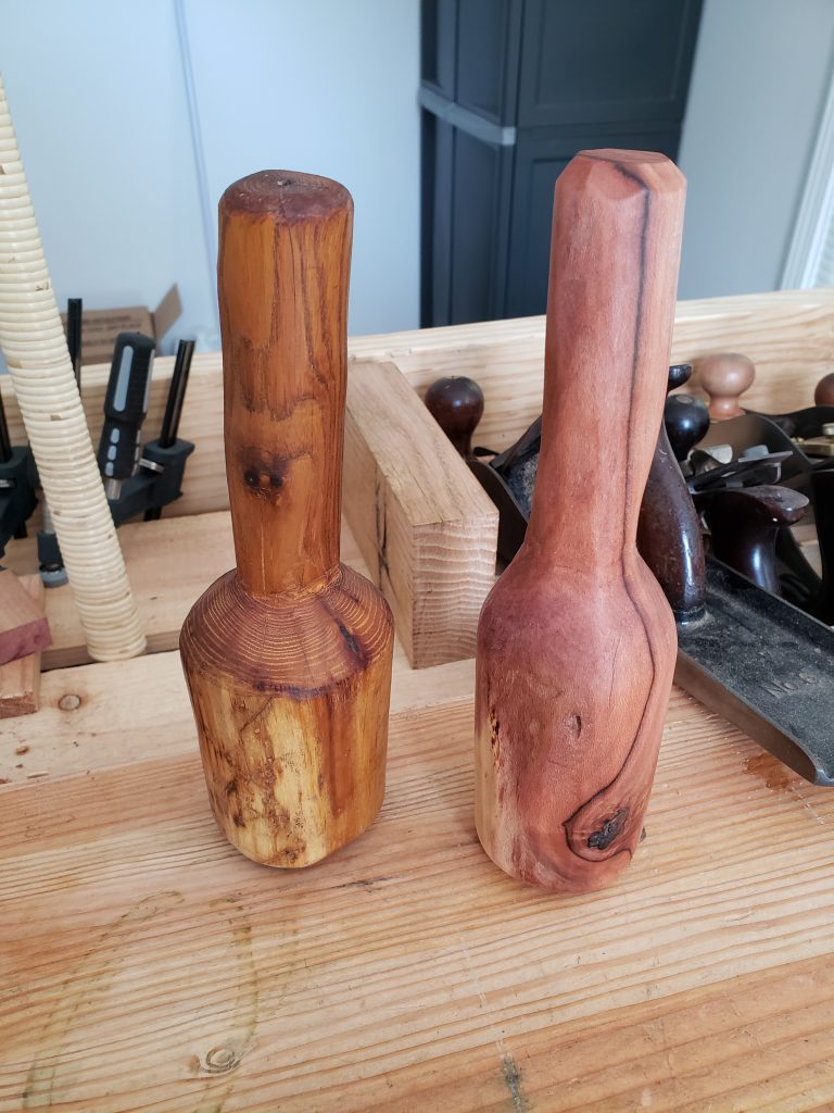 Carving Mallets by Kaleb