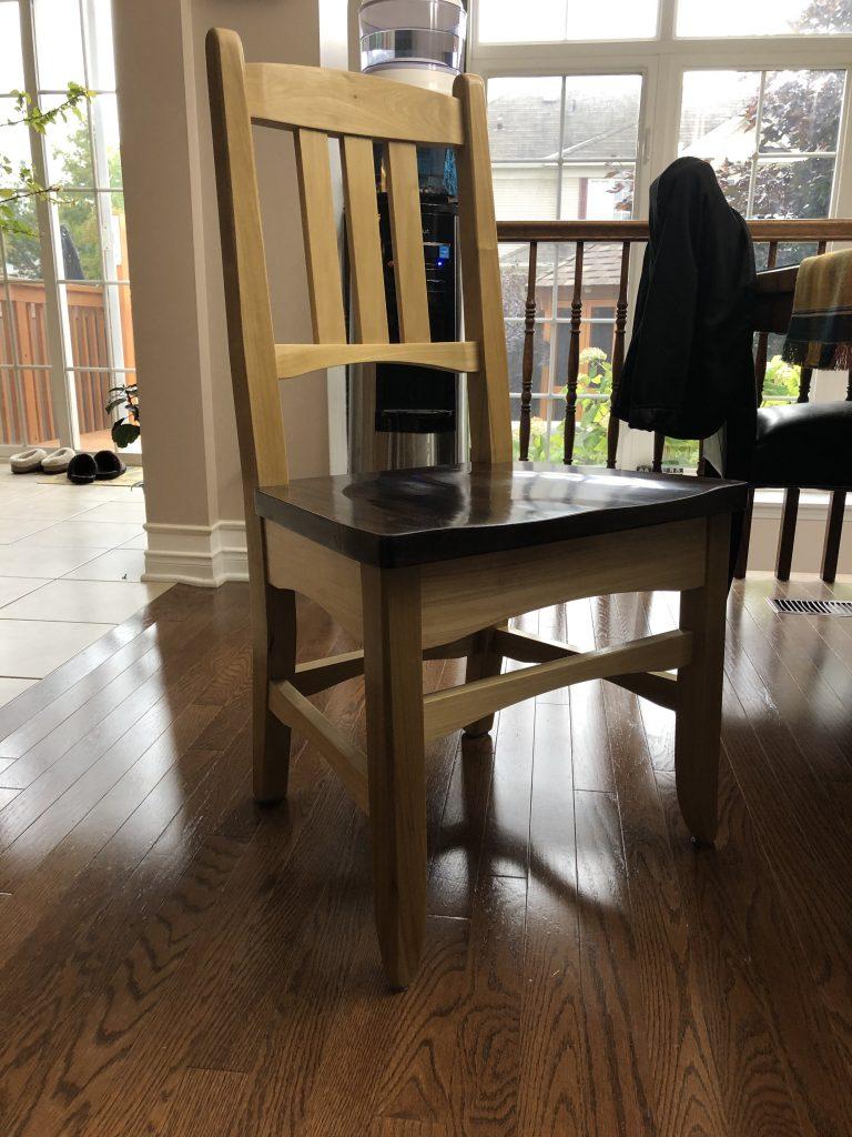 Dining Chair by Bernard Deroy