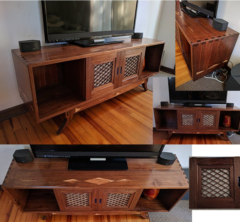 Media Console by Craig Medvecky