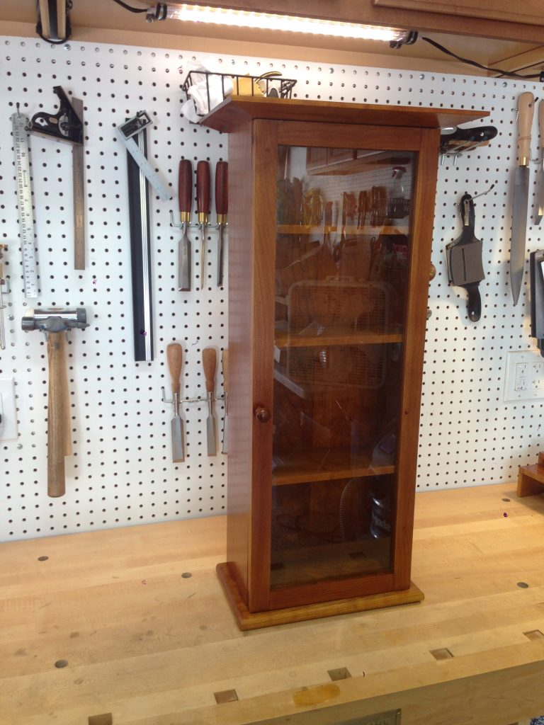 Wall Hanging Curio Cabinet by Joe, Livermore CA