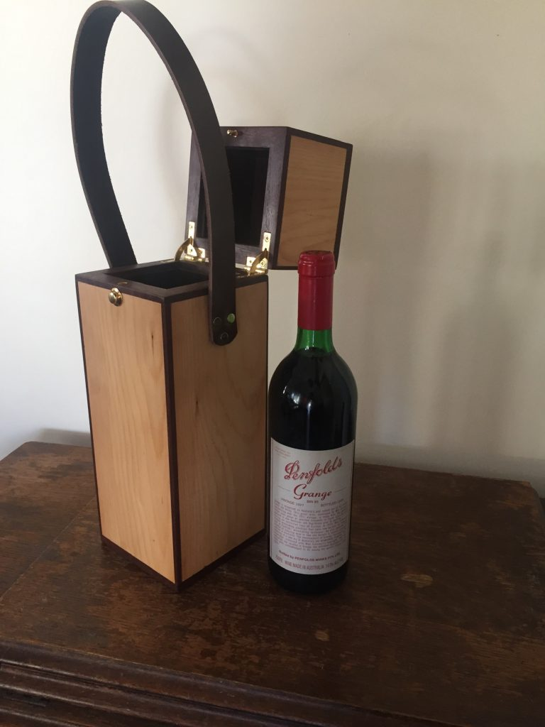 Wine Caddy by Andrew Cope