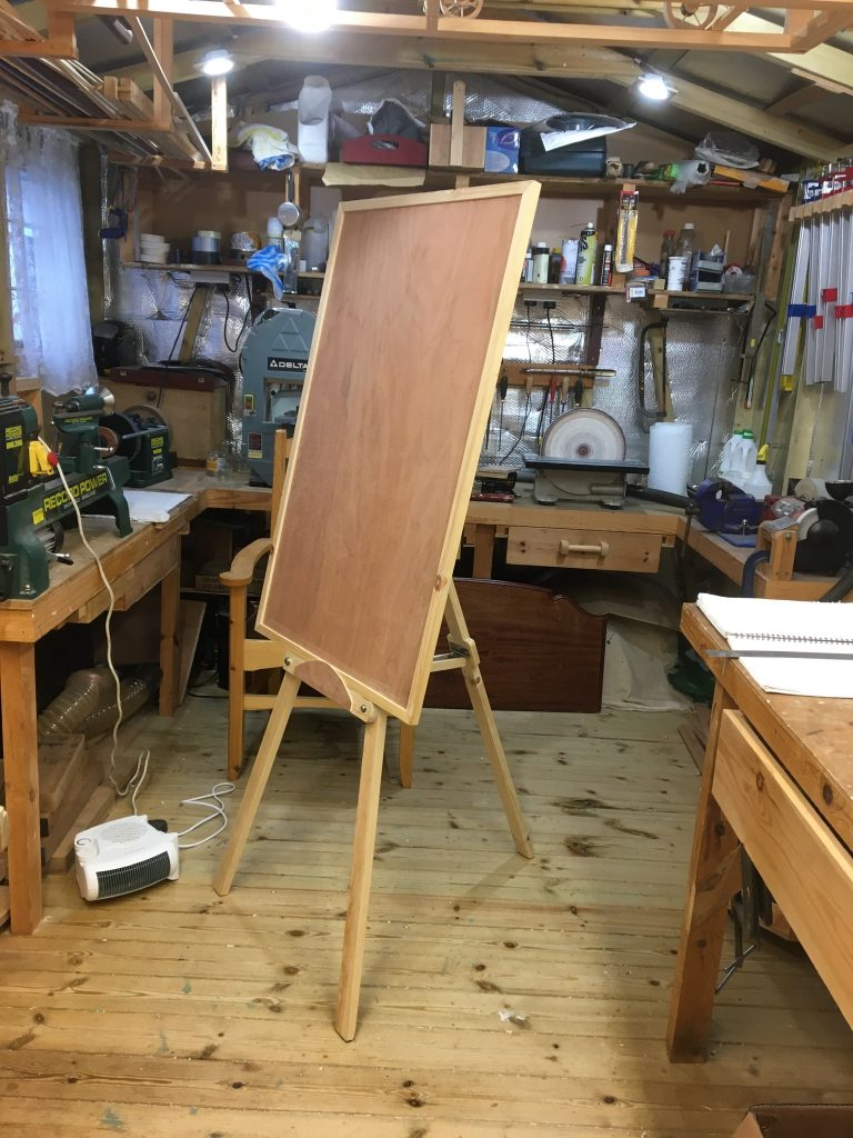 Easel with Frame by rayc21
