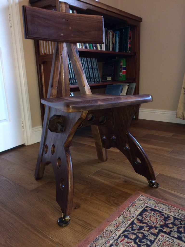 Gothic Chair by Toby Vereker