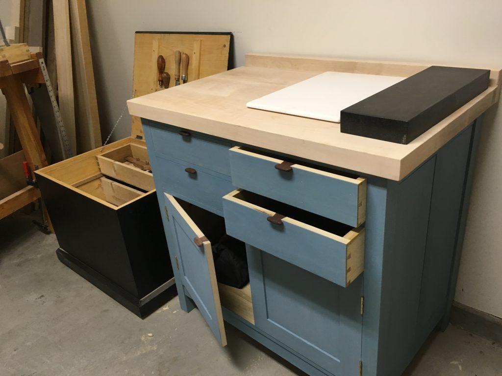 Shop Cabinet by Ben Ellenberger