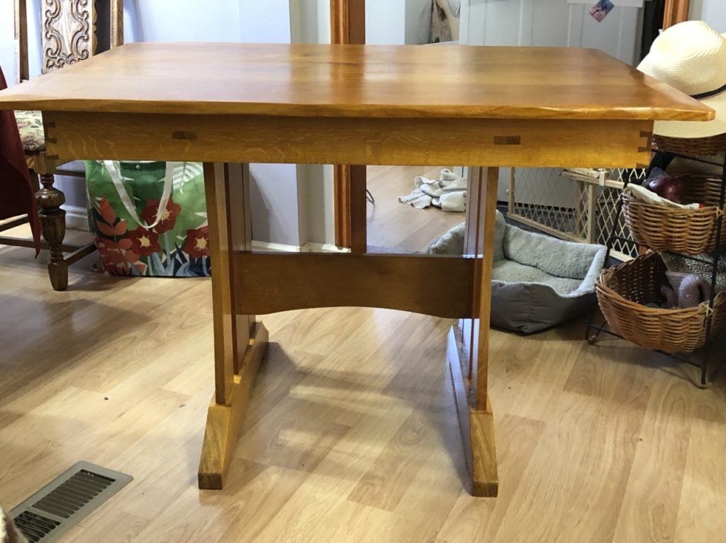 Trestle Table by deanbecker