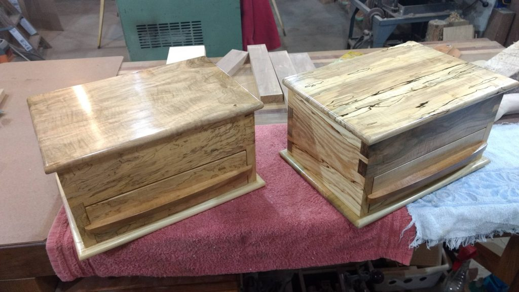 Keepsake Boxes by James Light