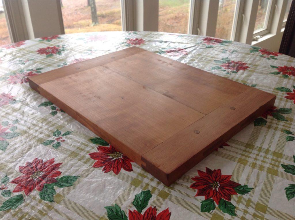 Breadboard-end Cutting Board by Karey Reese