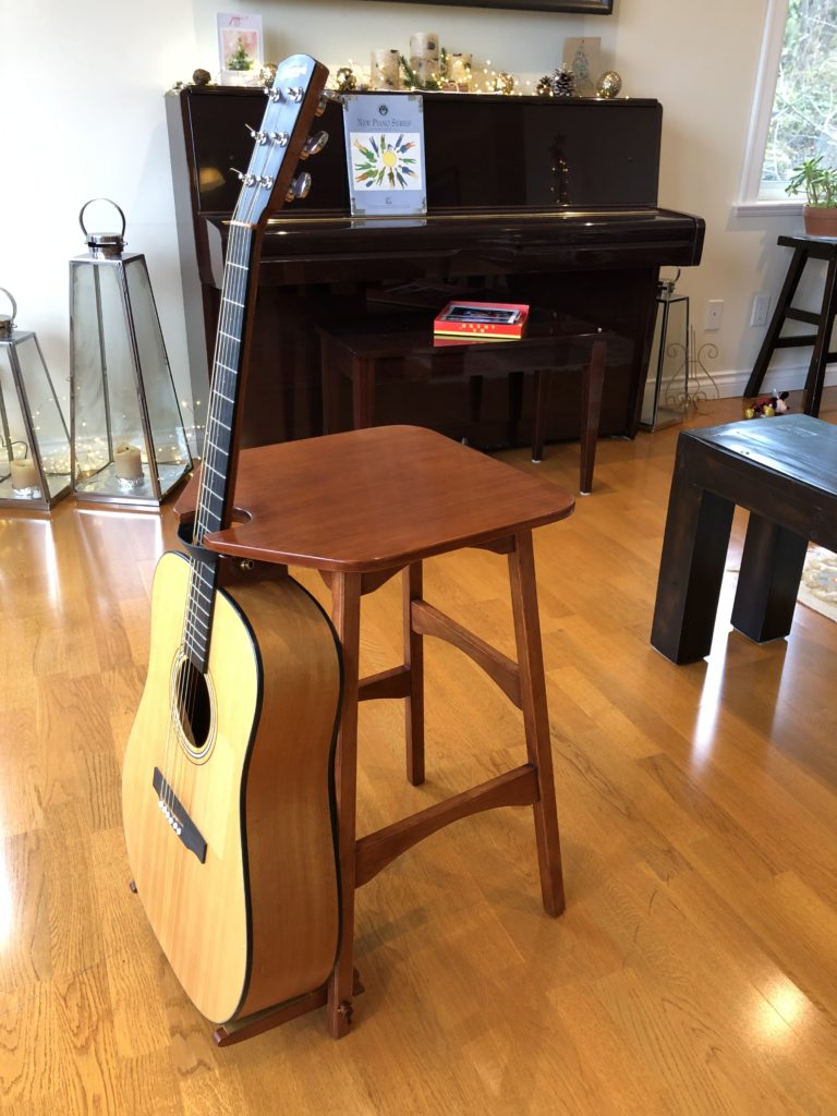 Guitar Stand/Stool by Ian Hemphill