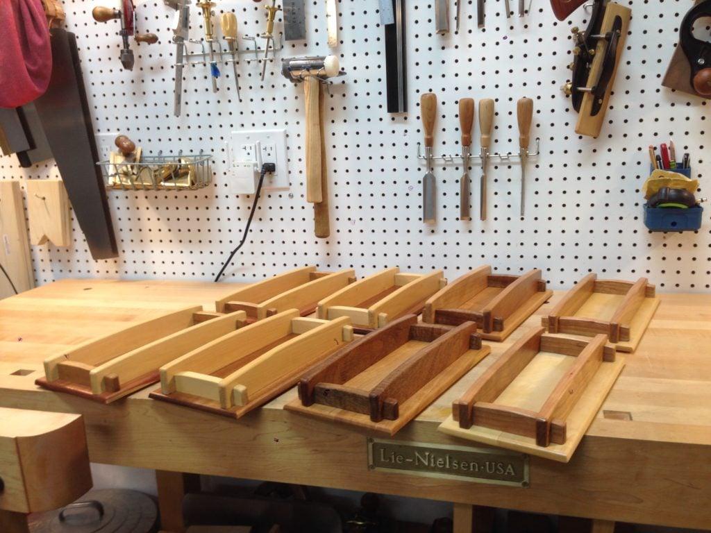 Wooden Trays by joeleonetti