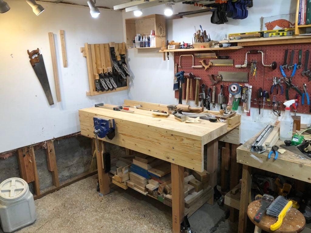 Workbench by Brian Rosenberg