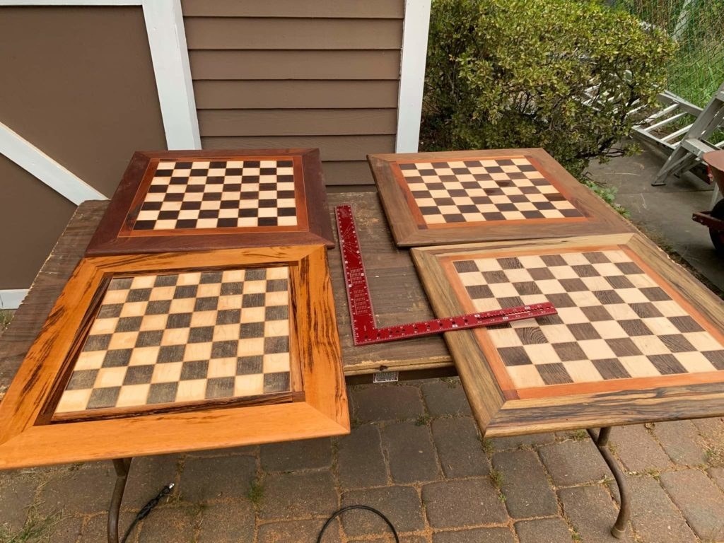 Chessboards by Theodore Becker