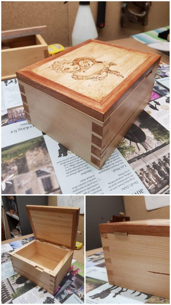 Dovetail Box by Przemyslaw Mysik