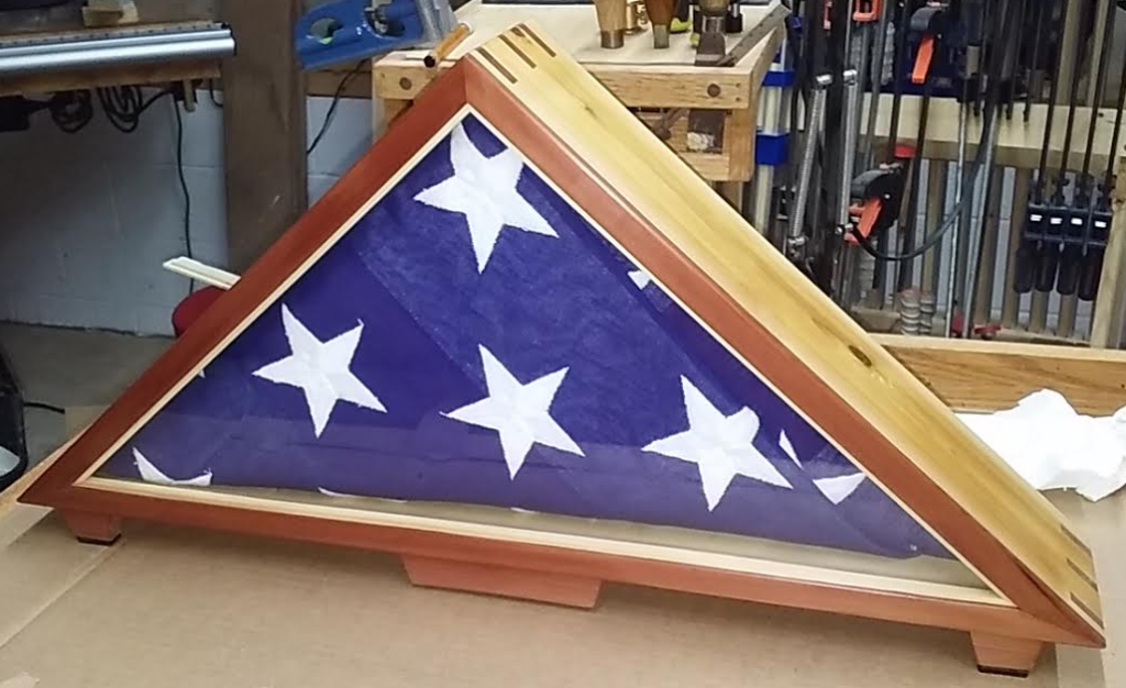 Flag Display Case by Michael Campbell