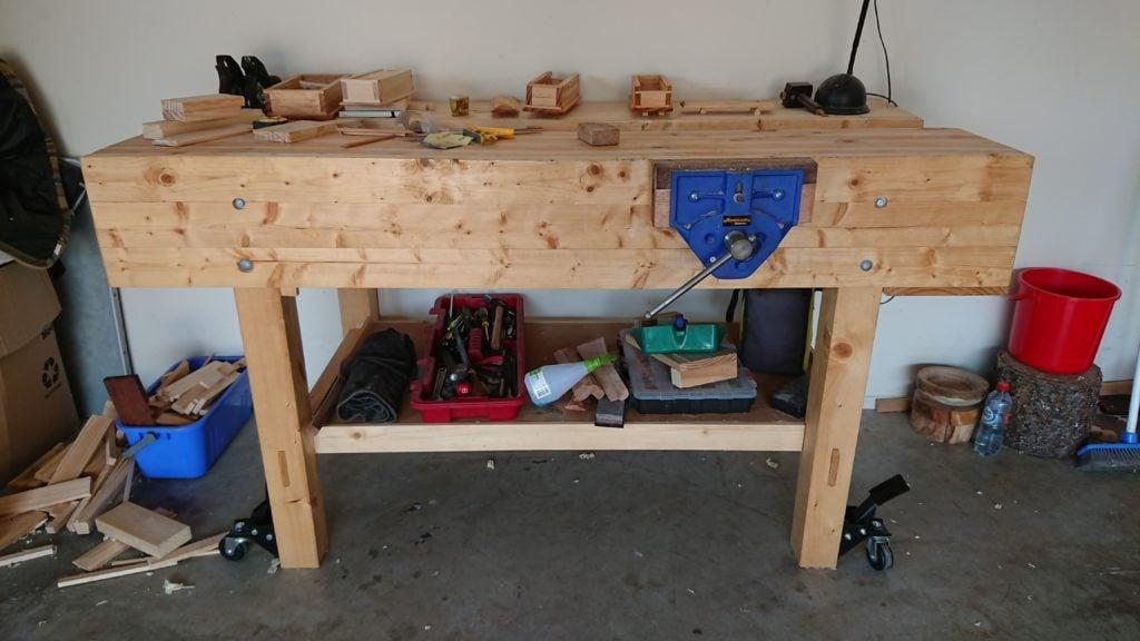 Workbench by Stephen Tyrrell
