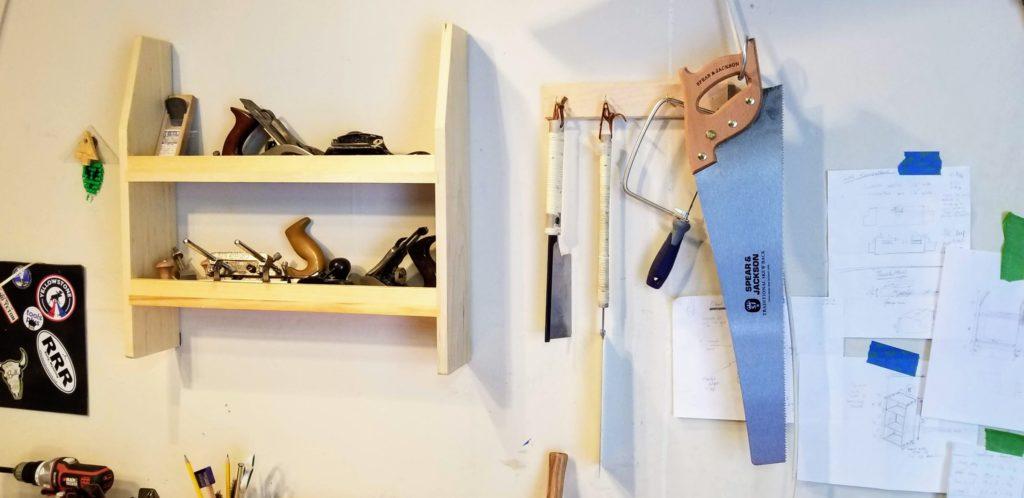 Workshop Shelves by JONATHAN HARRIS