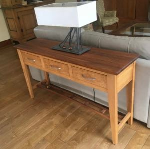 Console Table by Robert Theoret