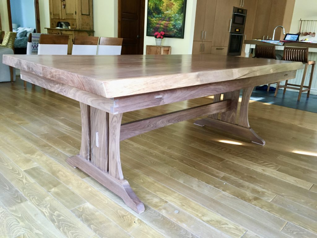 Trestle Table by Robert Theoret