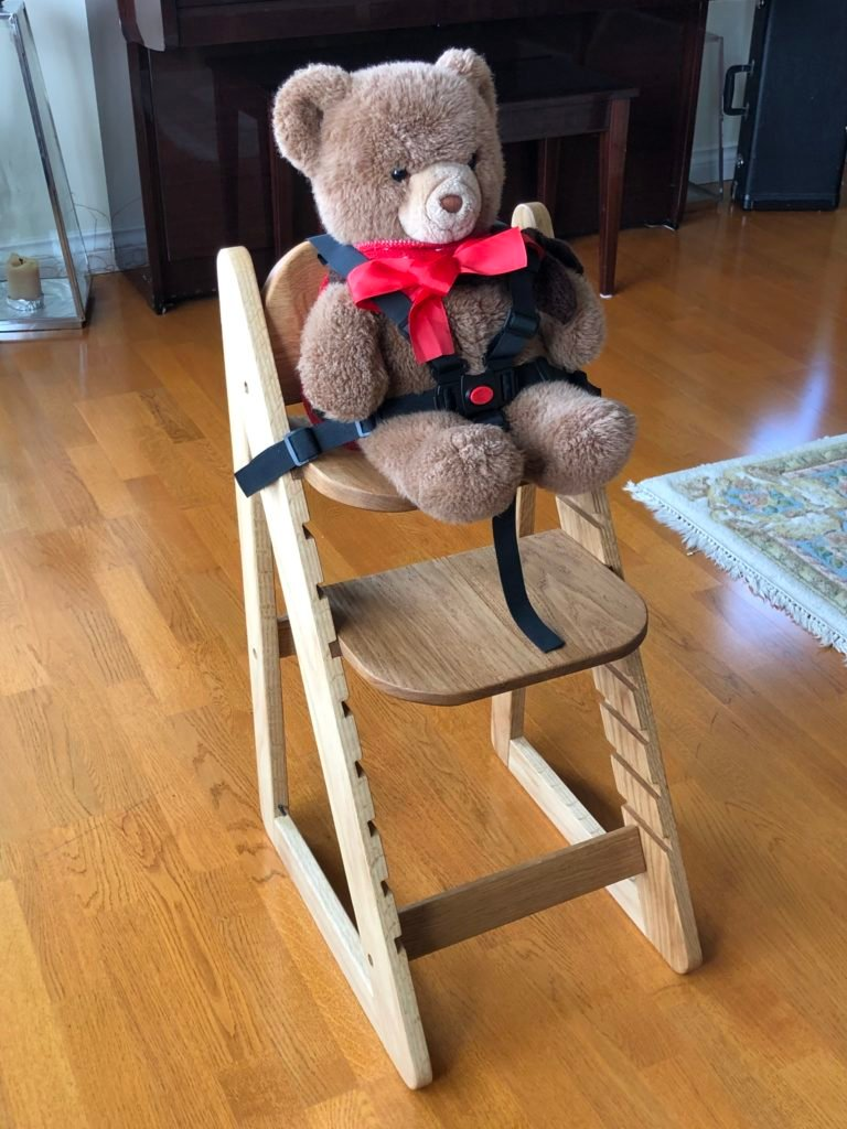 Adjustable Baby/Toddler High Chair by Ian Hemphill