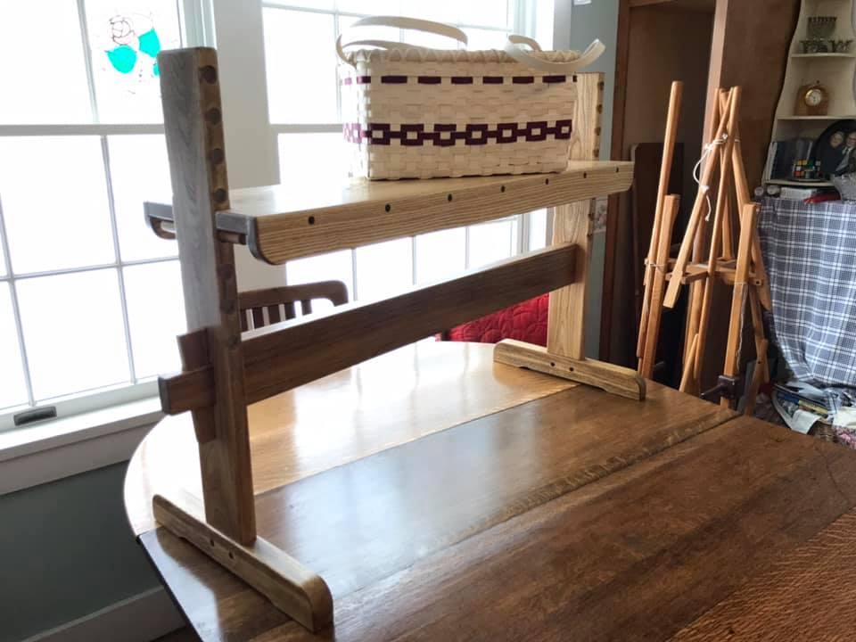 Adjustable Weaver's Bench by Robert Bellairs