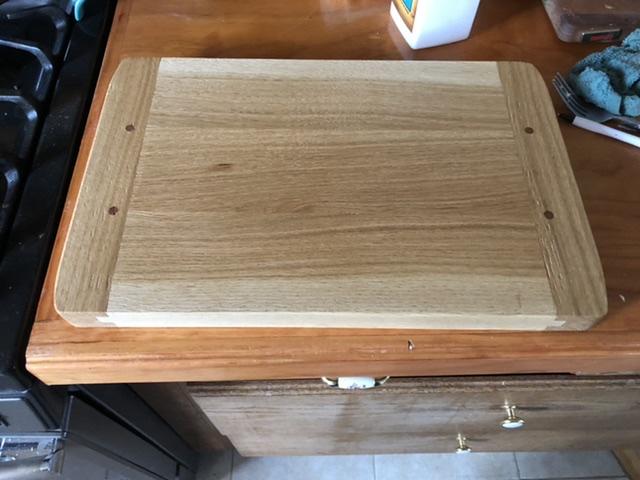 Breadboard-end Cutting Board by deanbecker