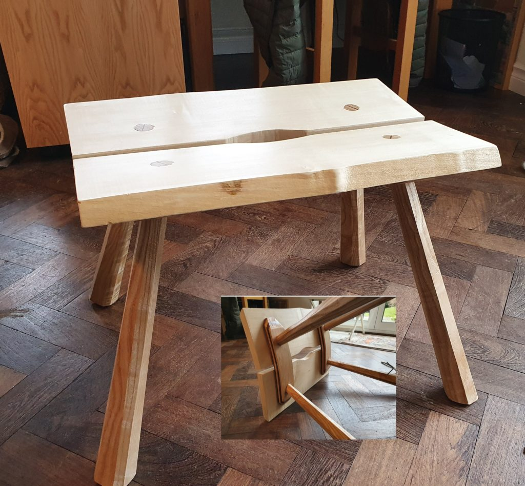 Handy Stool by Justin Emrich