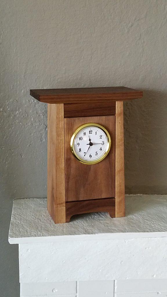 Mantel Clock by Greg Nuckols