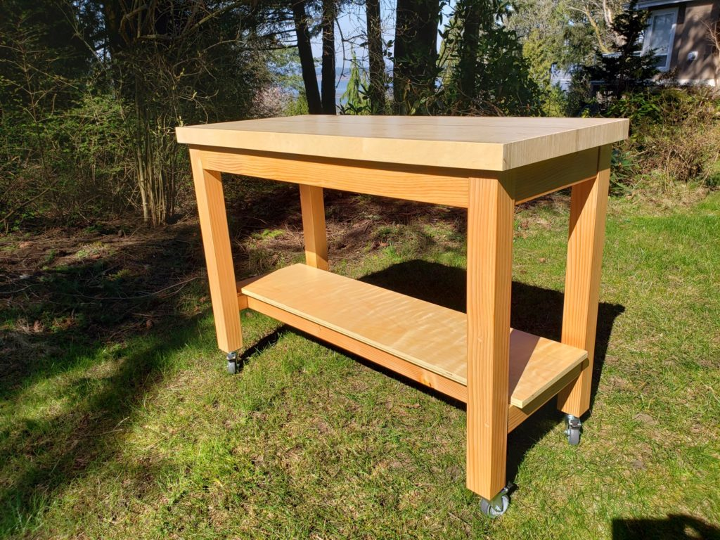 Moving Workshop Table by dunnison