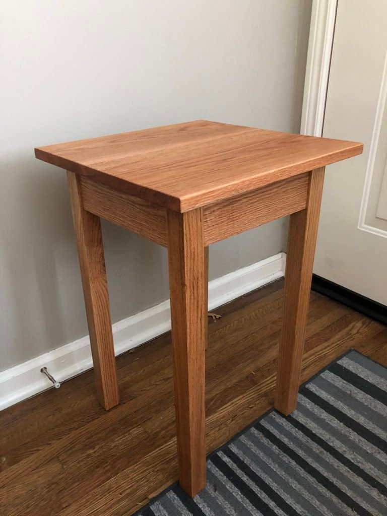 Simple Bedside Table by Eric Noble