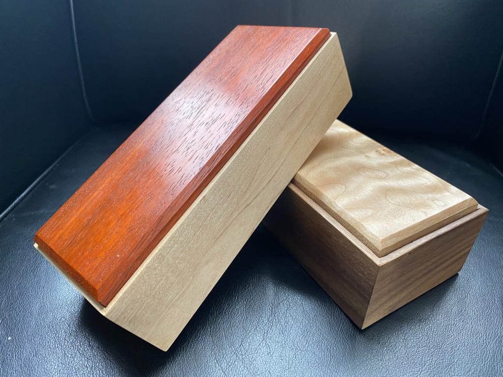 Small Keepsake Boxes by Otto Vanderkooi