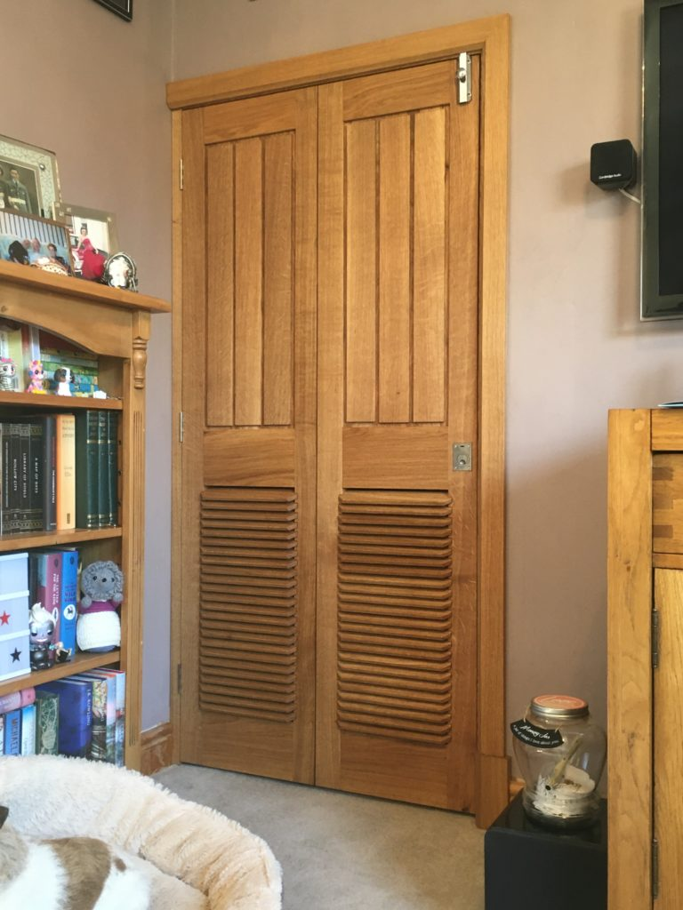 Bi-fold Doors, Frame and Architraves by Greg Wagner
