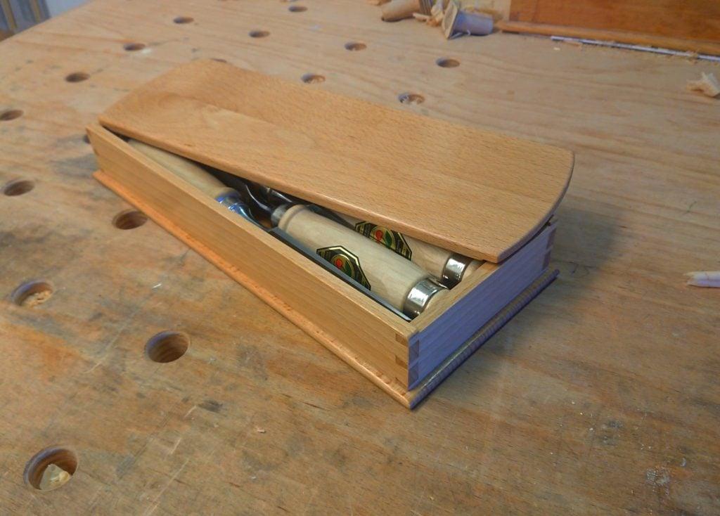 Dovetail Box by Patrick Rippl