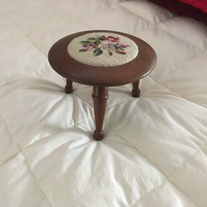 Footstool by Mark Stone
